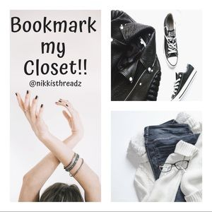 Other - Like this post to bookmark my closet!!!